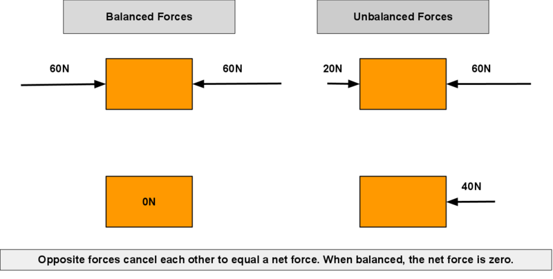 balanced and unbalanced forces worksheet Car Tuning